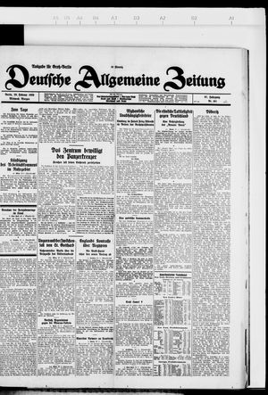 Deutsche allgemeine Zeitung vom 29.02.1928