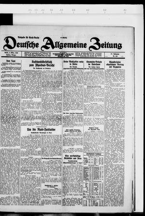 Deutsche allgemeine Zeitung vom 02.03.1928