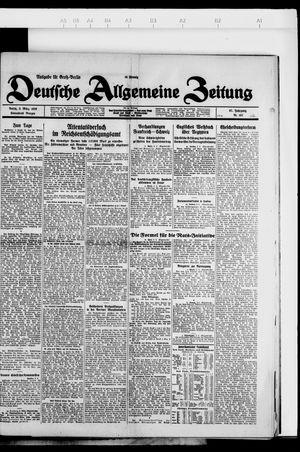 Deutsche allgemeine Zeitung vom 03.03.1928