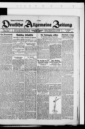 Deutsche allgemeine Zeitung vom 05.03.1928
