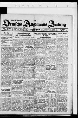 Deutsche allgemeine Zeitung on Mar 6, 1928