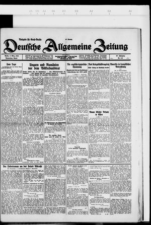 Deutsche allgemeine Zeitung on Mar 8, 1928