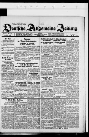 Deutsche allgemeine Zeitung vom 10.03.1928