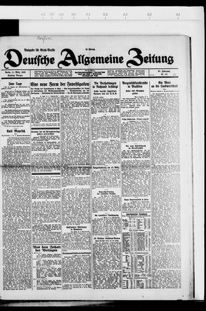 Deutsche allgemeine Zeitung vom 11.03.1928