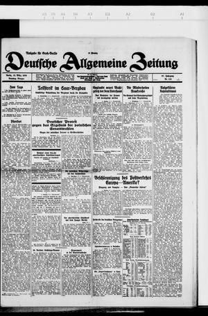 Deutsche allgemeine Zeitung vom 13.03.1928