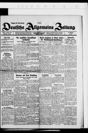 Deutsche allgemeine Zeitung vom 15.03.1928