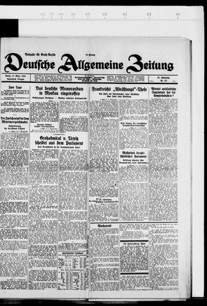 Deutsche allgemeine Zeitung vom 17.03.1928