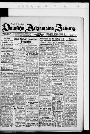 Deutsche allgemeine Zeitung vom 18.03.1928