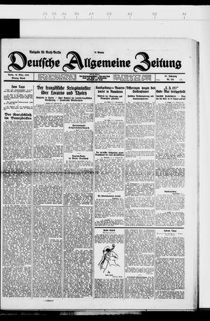 Deutsche allgemeine Zeitung vom 19.03.1928