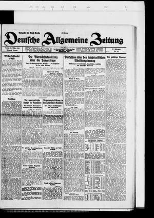 Deutsche allgemeine Zeitung vom 21.03.1928