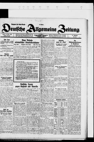 Deutsche allgemeine Zeitung vom 23.03.1928