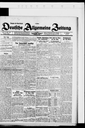 Deutsche allgemeine Zeitung vom 28.03.1928