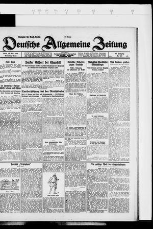 Deutsche allgemeine Zeitung vom 29.03.1928