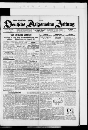 Deutsche allgemeine Zeitung vom 31.03.1928
