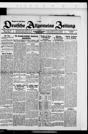 Deutsche allgemeine Zeitung vom 03.04.1928