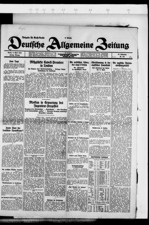 Deutsche allgemeine Zeitung vom 06.04.1928