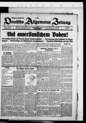 Deutsche allgemeine Zeitung vom 14.04.1928