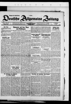 Deutsche allgemeine Zeitung vom 17.04.1928