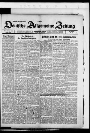Deutsche allgemeine Zeitung vom 23.04.1928