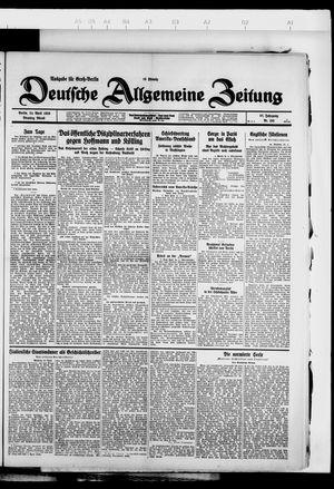 Deutsche allgemeine Zeitung vom 24.04.1928