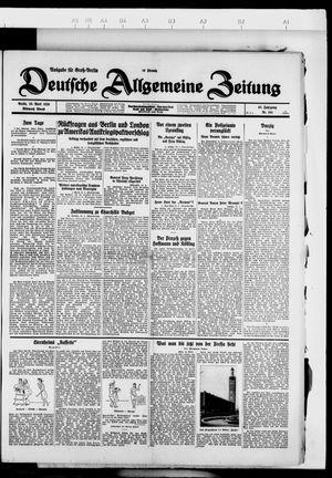 Deutsche allgemeine Zeitung vom 25.04.1928
