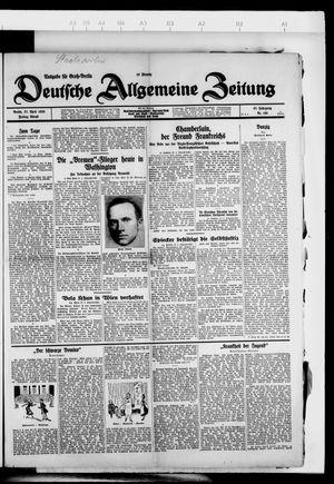 Deutsche allgemeine Zeitung vom 27.04.1928