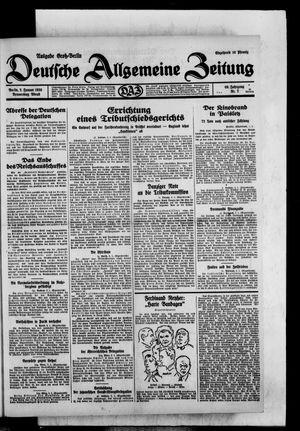 Deutsche allgemeine Zeitung vom 02.01.1930