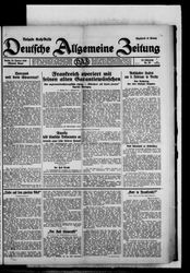 Deutsche allgemeine Zeitung