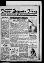 Deutsche allgemeine Zeitung (28.01.1930)