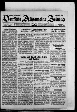 Deutsche allgemeine Zeitung vom 04.03.1930