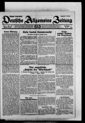 Deutsche allgemeine Zeitung on Mar 5, 1930