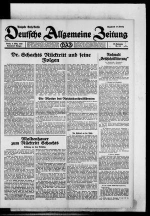 Deutsche allgemeine Zeitung vom 08.03.1930