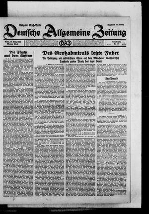 Deutsche allgemeine Zeitung vom 10.03.1930