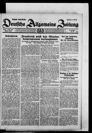Deutsche allgemeine Zeitung vom 17.03.1930