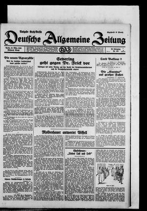 Deutsche allgemeine Zeitung vom 19.03.1930