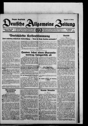 Deutsche allgemeine Zeitung vom 26.03.1930