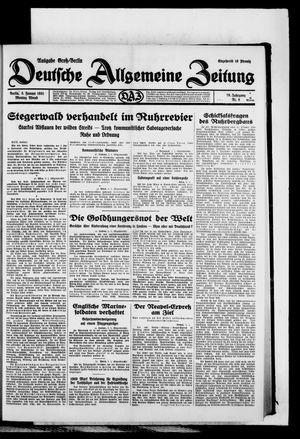 Deutsche allgemeine Zeitung vom 05.01.1931