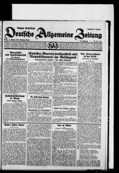 Deutsche allgemeine Zeitung (21.10.1931)