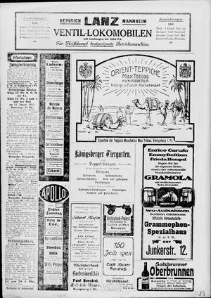 Königsberger Hartungsche Zeitung on Nov 10, 1912
