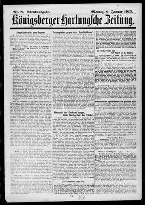 Königsberger Hartungsche Zeitung vom 06.01.1913