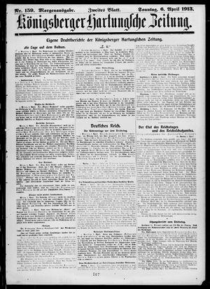 Königsberger Hartungsche Zeitung vom 06.04.1913