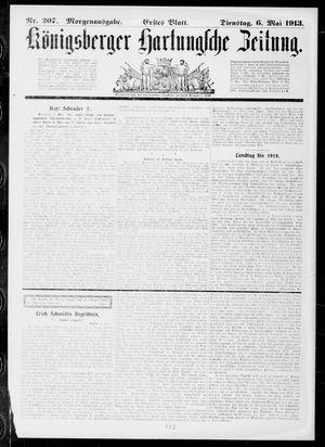 Königsberger Hartungsche Zeitung vom 06.05.1913