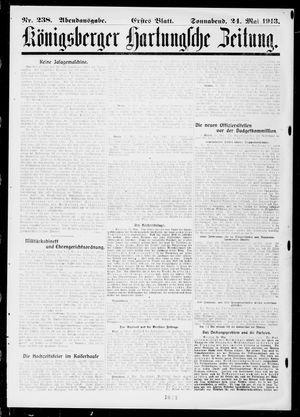 Königsberger Hartungsche Zeitung vom 24.05.1913