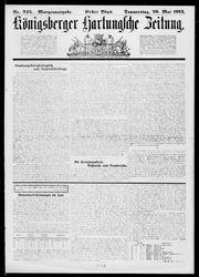 Königsberger Hartungsche Zeitung