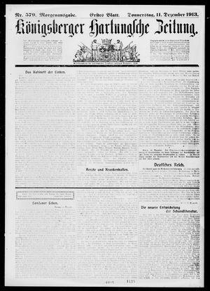 Königsberger Hartungsche Zeitung on Dec 11, 1913