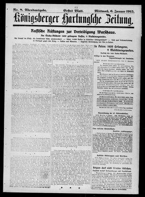 Königsberger Hartungsche Zeitung vom 06.01.1915