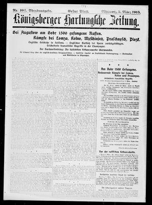 Königsberger Hartungsche Zeitung vom 03.03.1915