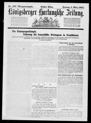 Königsberger Hartungsche Zeitung vom 05.03.1915