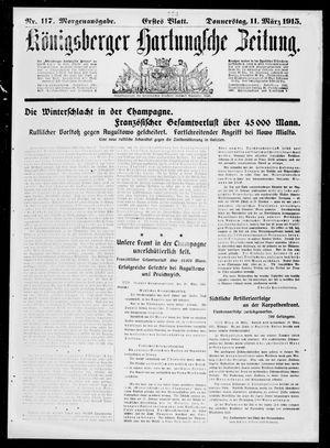 Königsberger Hartungsche Zeitung on Mar 11, 1915