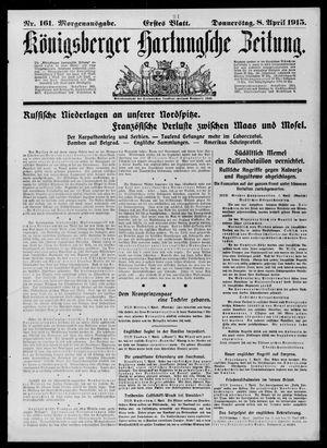 Königsberger Hartungsche Zeitung on Apr 8, 1915